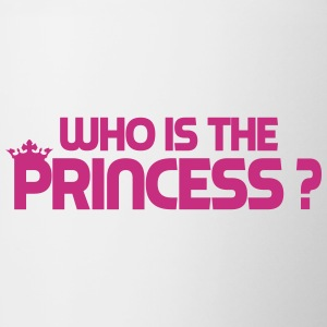 Who is the princess ? Bouteilles et tasses - Tasse bicolore