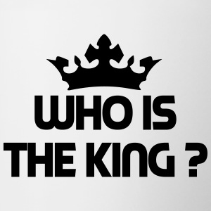 Who is the king ? Bouteilles et tasses - Tasse bicolore