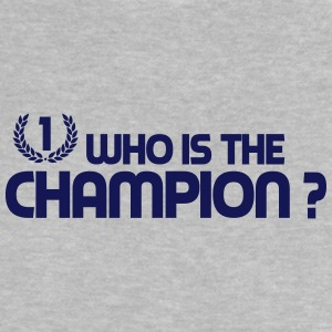 Who is the champion ? Tee shirts - T-shirt Bébé