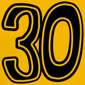 Number 30 thirty birthday anniversary T-Shirts - Men's Premium T-Shirt