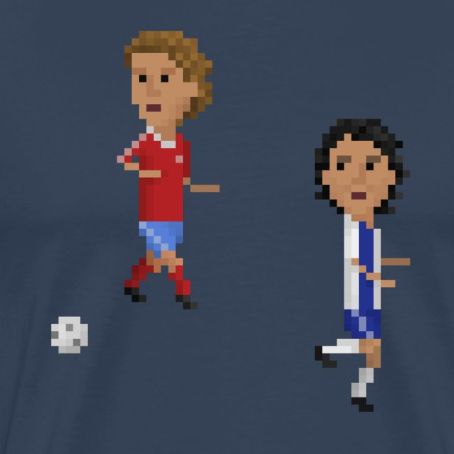 Men T-Shirt Champions Goal 1987