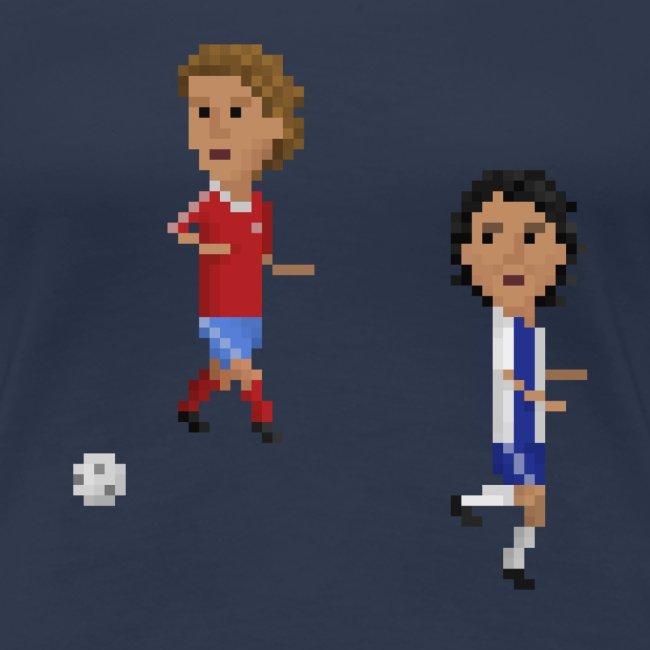 Women T-Shirt Champions Goal 1987