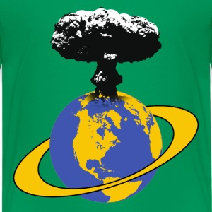 the end of the world Shirts - Teenage Premium T-Shirt