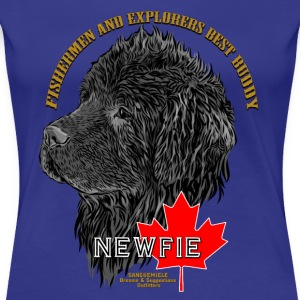 newfoundland_head T-Shirts - Frauen Premium T-Shirt