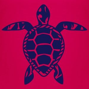 A sea turtle  Shirts - Teenage Premium T-Shirt