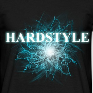 hardstyle blue Tee shirts - T-shirt Homme