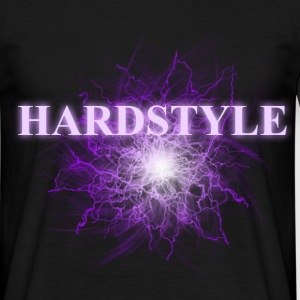 hardstyle_purple Tee shirts - T-shirt Homme