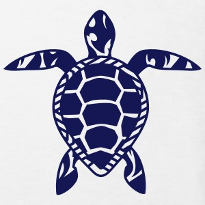 A sea turtle  Shirts - Kids' Organic T-shirt
