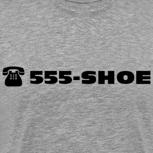 555 - SHOE The shoe emergency call  T-Shirts - Men's Premium T-Shirt
