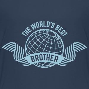 The World's Best Brother (1C) T-Shirts - Teenager Premium T-Shirt