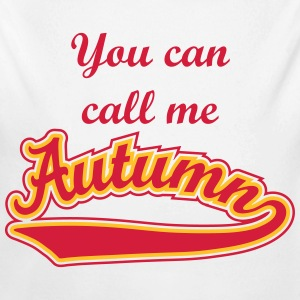 Autumn- T-shirt Personalised with your name Hoodies - Longlseeve Baby Bodysuit