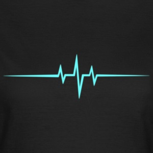 Music Heart rate Dub Techno House Dance Trance Camisetas - Camiseta mujer