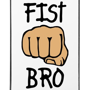 fist bro 2c Phone & Tablet Cases - iPhone 4/4s Hard Case