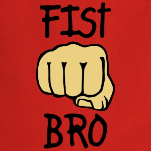 fist bro 2c  Aprons - Cooking Apron