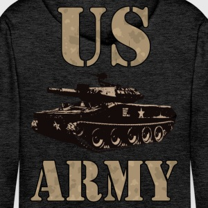 US Army 01 Sweat-shirts - Sweat-shirt à capuche Premium pour hommes