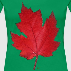 Red maple leaf T-Shirts - Women's Premium T-Shirt