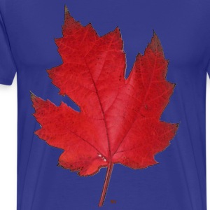 Red maple leaf T-Shirts - Men's Premium T-Shirt