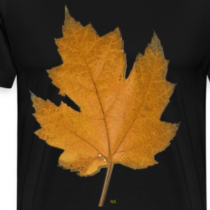 Yellow maple leaf T-Shirts - Men's Premium T-Shirt