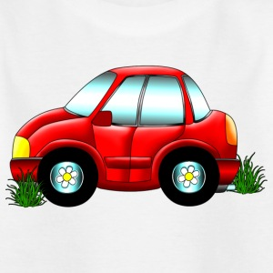Rotes Auto - Kinder T-Shirt