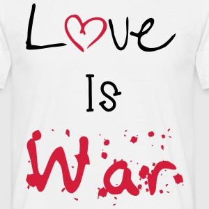 Love Is war T-Shirts - Männer T-Shirt