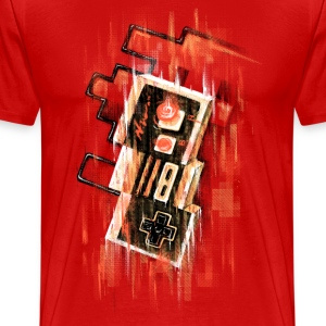 Blurry NES T-Shirts - Men's Premium T-Shirt