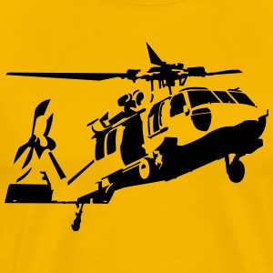 helicopter T-shirts - Mannen Premium T-shirt