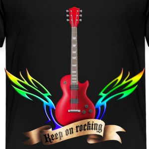 guitars_and_wings_032014_c T-Shirts - Kinder Premium T-Shirt