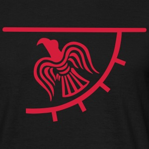 Viking Raven Banner T-Shirts - Men's T-Shirt