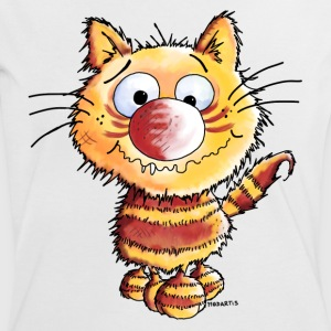 Crazy Cat - Cats T-Shirts - Women's Ringer T-Shirt