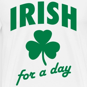Irish for a day T-shirts - Herre premium T-shirt