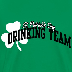St. Patrick's day drinking team T-shirts - Herre premium T-shirt