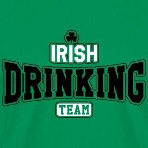 St. Patrick's day: Irish drinking team T-skjorter - Premium T-skjorte for menn