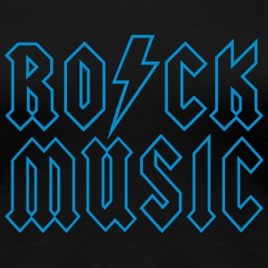 RO/CK Music Outline T-Shirts - Frauen Premium T-Shirt