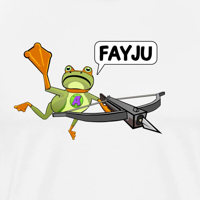 Amazing Frog: Amazing Frog Crossbow - Men's Premium T-Shirt
