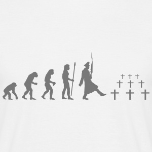 evolution_mankind T-Shirts - Männer T-Shirt