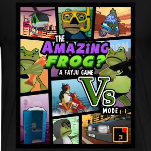 Amazing Frog CTA theme - Men's Premium T-Shirt