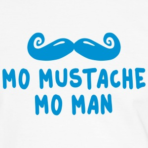 more mustache more man T-shirts - Herre kontrast-T-shirt