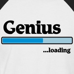 Genius loading T-Shirts - Männer Baseball-T-Shirt
