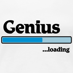 Genius loading T-Shirts - Frauen Premium T-Shirt