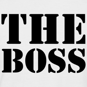 The Boss Tee shirts - T-shirt baseball manches courtes Homme