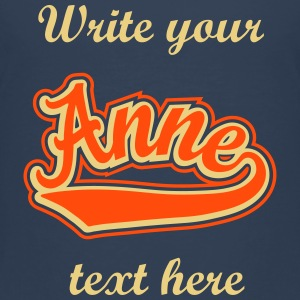 Anne - T-shirt Personalised with your name Shirts - Kids' Premium T-Shirt