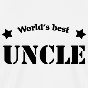 World's best uncle T-shirts - Mannen Premium T-shirt