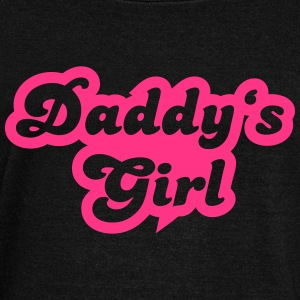 Daddy's girl Hoodies & Sweatshirts - Women's Boat Neck Long Sleeve Top