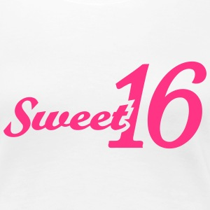 Sweet 16 T-Shirts - Frauen Premium T-Shirt