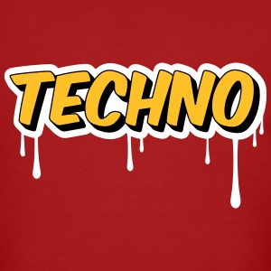 TECHNO - Party T-Shirts - Männer Bio-T-Shirt