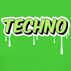 TECHNO - Party Magliette - T-shirt ecologica da donna