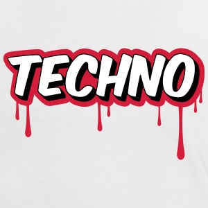 TECHNO - Party Tee shirts - T-shirt contraste Femme
