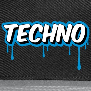 TECHNO - Party Gorras y gorros - Gorra Snapback