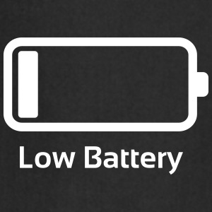 Lage batterij / Funny & Cool / loading bar Kookschorten - Keukenschort