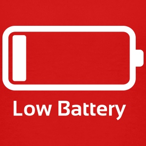 Low battery / Lustig & Cool / Ladebalken  T-Shirts - Teenager Premium T-Shirt